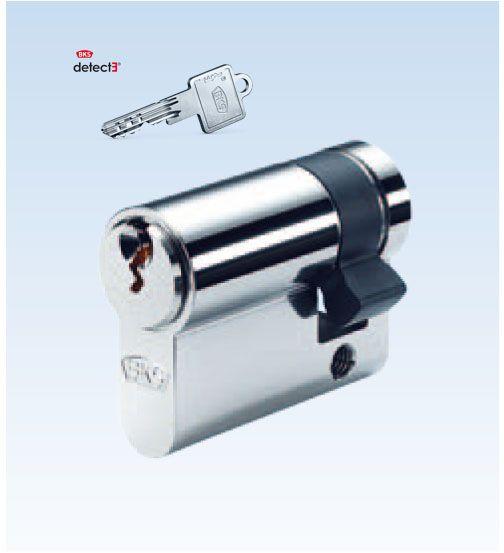 BKS Detect Halb-Schließzylinder