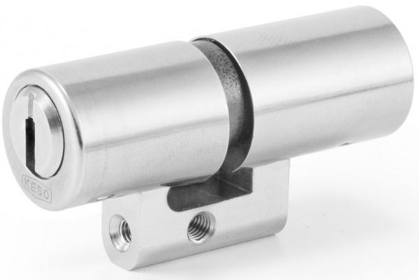 KESO 4000 Omega Doppelzylinder asymetrisch Schweizer Rundprofil